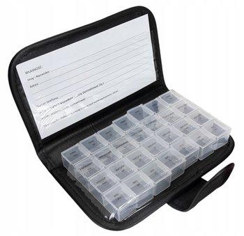 POJEMNIK kasetka PUDEŁKO na leki tabletki 7dni x 4-DecorTrend