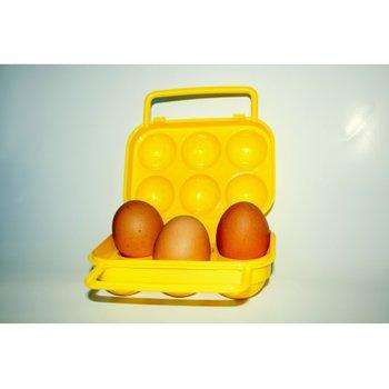 Pojemnik na jajka, żółty-Jawi