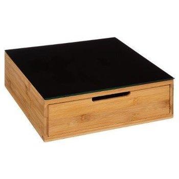 Pojemnik na kapsułki do kawy 5FIVE SIMPLE SMART, brązowy, 10x30x30 cm-5five Simple Smart