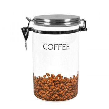 Pojemnik na kawę z łyżeczką ZELLER, 1,5 l, 10,5x19 cm-Zeller