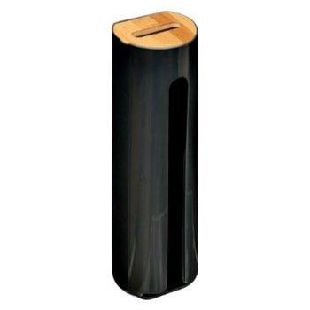 Pojemnik na płatki kosmetyczne 5FIVE SIMPLE SMART, czarny, 7x25 cm-5five Simple Smart