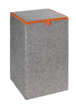 Pojemnik na pranie, skrzynia WENKO, szary, 55 l-Wenko