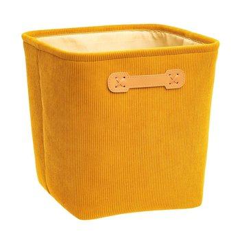 Pojemnik z uchwytami, 31 x 31 x 31 cm, żółty-5five Simple Smart
