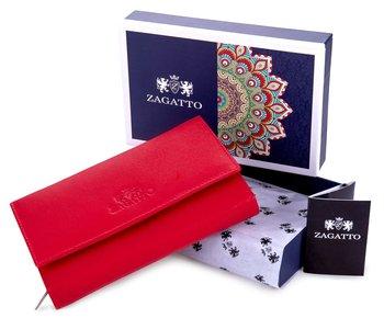 Pojemny portfel damski Zagatto ZG 90 CR-Zagatto