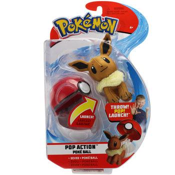 Pokemon, figurka Pop Action Poke Ball eevee-Pokemon
