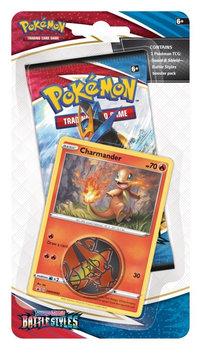 Pokemon TCG, karty Battle Styles Checklane Blister Charmander-Pokemon TCG