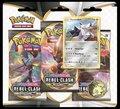 Pokemon TCG: Sword and Shield Blister Rebel Clash (Three Booster)