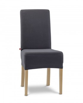 Pokrowiec na krzesło ELSTYCZNE POKROWCE Agata 2 szt., antracyt-Elastyczne Pokrowce