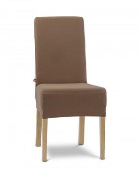Pokrowiec na krzesło ELSTYCZNE POKROWCE Agata 2 szt., brąz-Elastyczne Pokrowce