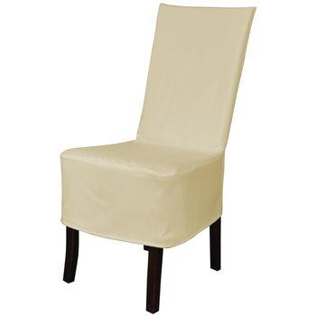 Pokrowiec na krzesło TESS Panama, ecru-TESS
