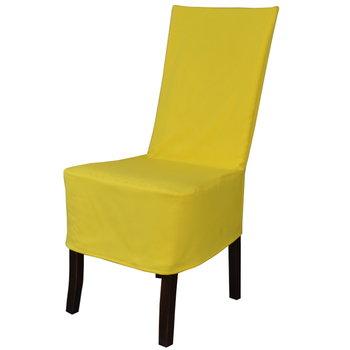 Pokrowiec na krzesło TESS Panama, żółty-TESS