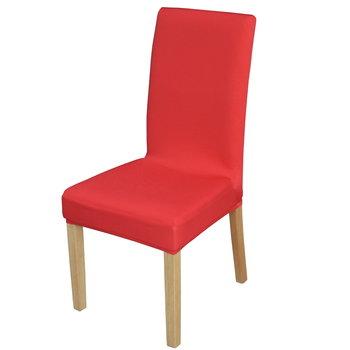 Pokrowiec na krzesło TESS Spandex, czerwony-TESS