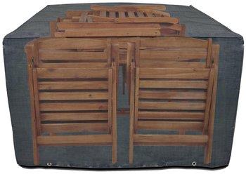 Pokrowiec na meble ogrodowe drewniane, 140x150x90 cm-Bazkar