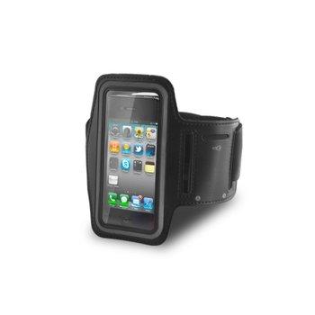 Pokrowiec na ramię GREENGO Premium na Samsung Galaxy S5 G900, czarny-GreenGo