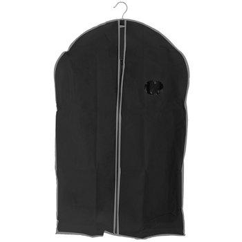 Pokrowiec na ubrania STORAGESOLUTIONS, czarny, 90x60 cm-Storagesolutions