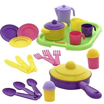 Polesie, zabawka edukacyjna Zestaw naczyń kuchennych-Polesie