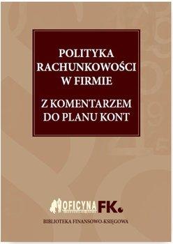 Polityka rachunkowości w firmie z komentarzem do planu kont                      (ebook)