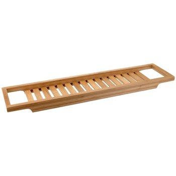 Półka łazienkowa na wannę, 4x15x64 cm-Bathroom Solutions