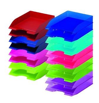 Półka na dokumenty Durable, niebieski-DURABLE