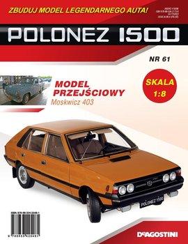 Polonez 1500 Zbuduj Model Legendarnego Auta Nr 61