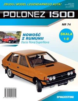 Polonez 1500 Zbuduj Model Legendarnego Auta Nr 74