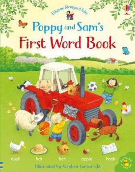 Poppy and Sam's First Word Book-Amery Heather