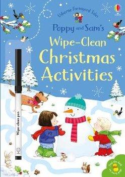 Poppy and Sam's Wipe-Clean Christmas Activities-Taplin Sam