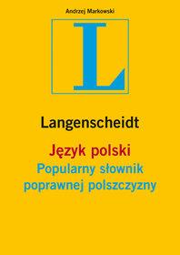 Popularny słownik poprawnej polszczyzny-Markowski Andrzej