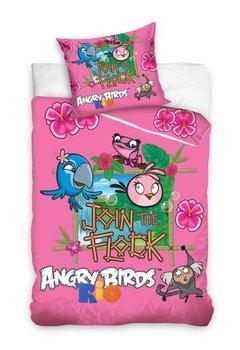 Pościel Angry Birds, Pościel dziecięca, 140x200 cm-Carbotex