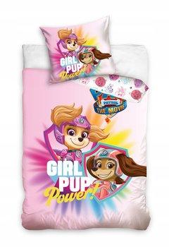 Pościel dla dziewczynki Psi Patrol 140x200 bawełna