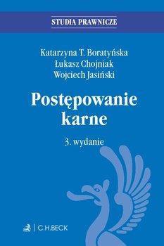 Postępowanie karne-Boratyńska Katarzyna T., Chojniak Łukasz, Jasiński Wojciech