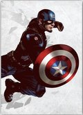 Posterplate, plakat Capitan America - Civil War United We stand