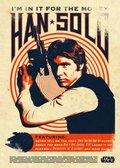 Posterplate, plakat Han Solo - Star Wars Legends