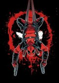 Posterplate, plakat Hang in there - Deadpool Merc with a Mouth