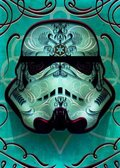 Posterplate, plakat Inked - Masked Troopers