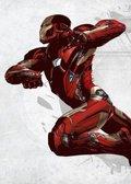 Posterplate, plakat Iron Man - Civil War Unitet We Stand
