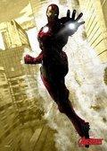 Posterplate, plakat Iron Man - Marvel Dark Edition