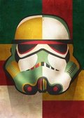 Posterplate, plakat Shapes - Masked Troopers