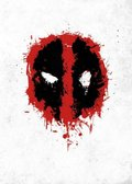 Posterplate, plakat Spray Tag - Deadpool Merc with a Mouth