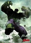 Posterplate, plakat The Hulk - Marvel Dark Edition