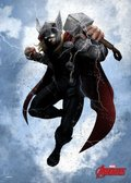 Posterplate, plakat Thor - Marvel Dark Ediotion
