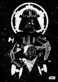 Posterplate, plakat Tie Advanced - Star Wars Pilots