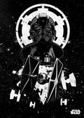 Posterplate, plakat Tie Fighter Pilot - Star Wars Pilots