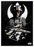 Posterplate, plakat X-Wing - Star Wars Pilots