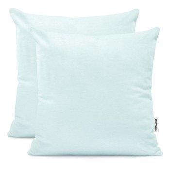 Poszewka na poduszkę DECOKING Amber, błękitny, 50x50 cm, 2 szt.-DecoKing
