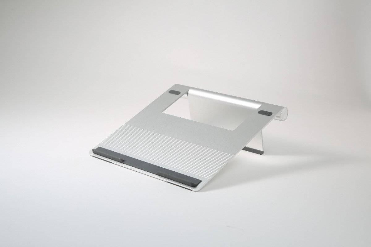 Pout Laptop Aluminum Stand - Silver