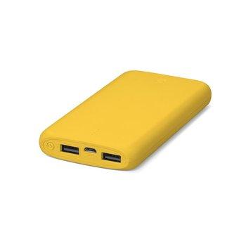 Powerbank TTEC PowerSlim, 10000 mAh, 2.1 A żółty-TTEC
