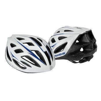 Powerslide, Kask ochronny, Fitness Basic Helmet, biały, rozmiar L/XL-Powerslide