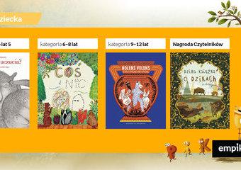 Poznaj najlepsze książki dla dzieci 2020 roku. Wyniki konkursu Przecinek i Kropka