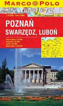 Poznań, Swarzędz, Luboń. Plan miasta-Opracowanie zbiorowe
